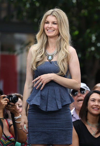 Marisa Miller appears on Extra last month :: JB Lacroix/WireImage