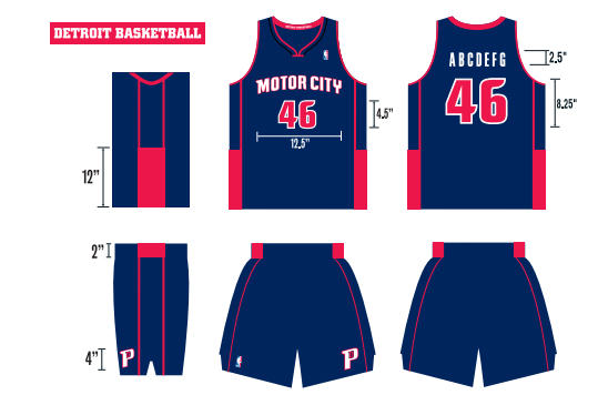 buy online 9edfa df649 Pistons unveil navy blue 'Motor City' uniforms   SI.com