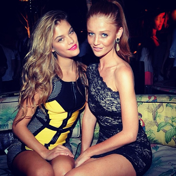 @ninaagdal: Good seeing you last night @cintiadicker :) #be9to5