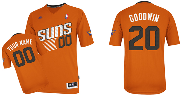 The Suns' new orange sleeved alternate jersey. (ShopSuns.com)