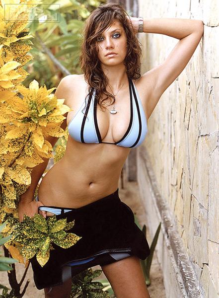 woman holding big tits