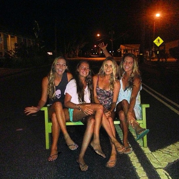 @alanarblanchard: Things where getting weird last night. @krisss10_s @camillebrady @jackiebrady