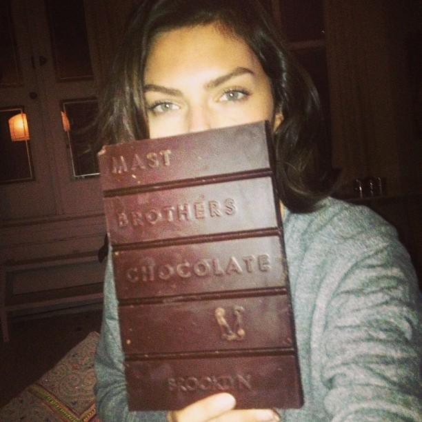@luvalyssamiller: Just an average chocolate bar