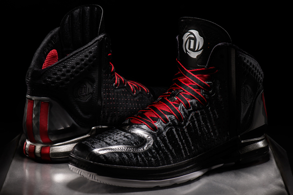 Photos  Adidas unveils  D Rose 4  signature sneaker for Bulls ... 5b94e575a