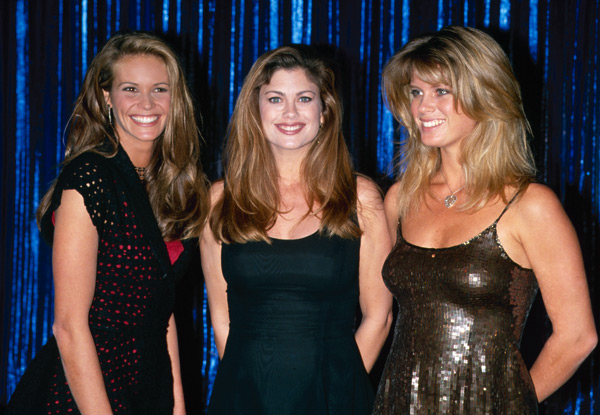 Elle MacPherson, Kathy Ireland and Rachel Hunter :: Getty Images