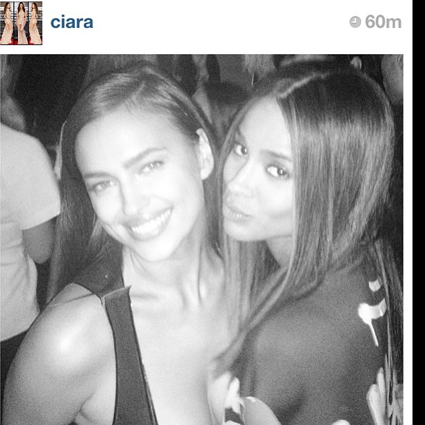 @irinashayk: #regram from my favorite #Ciara! best of the best outta there right now !!!!who can sing and dance better then C?noone#biggestFun#Wmagazineparty love ya girl