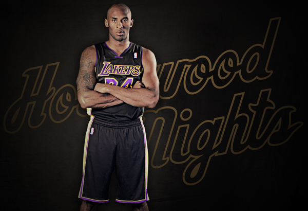 quality design 95351 72ed5 Lakers unveil new black 'Hollywood Nights' alternate jerseys ...