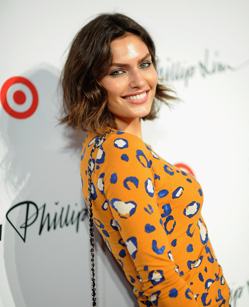 Alyssa Miller attends the 3.1 Phillip Lim for Target Launch Event at Spring Studio.  (Photo by Dimitrios Kambouris/Getty Images)