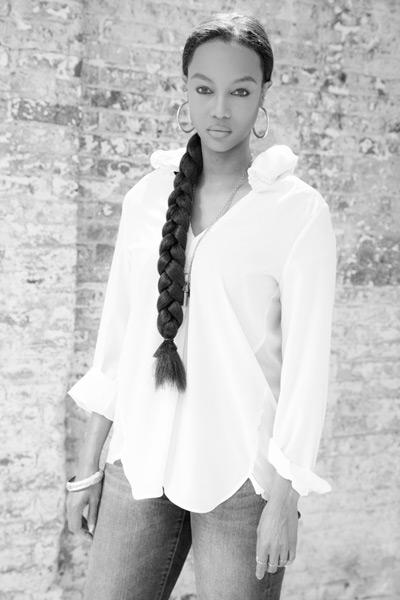 Tyra as Tyra Banks