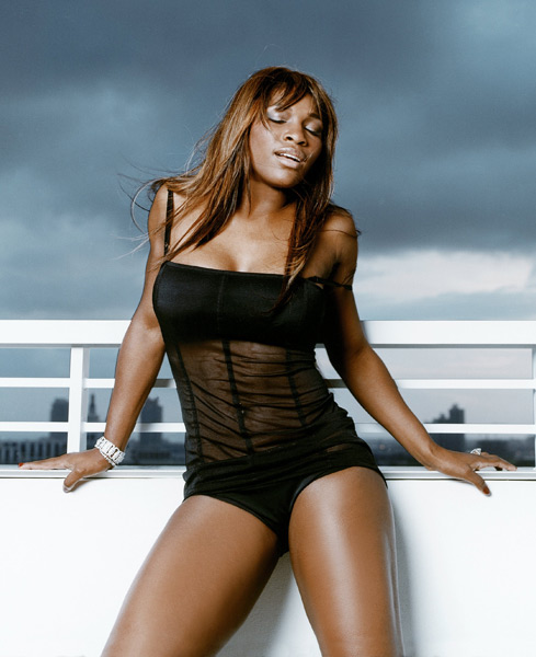Serena Williams :: Walter Iooss Jr./SI (2004)