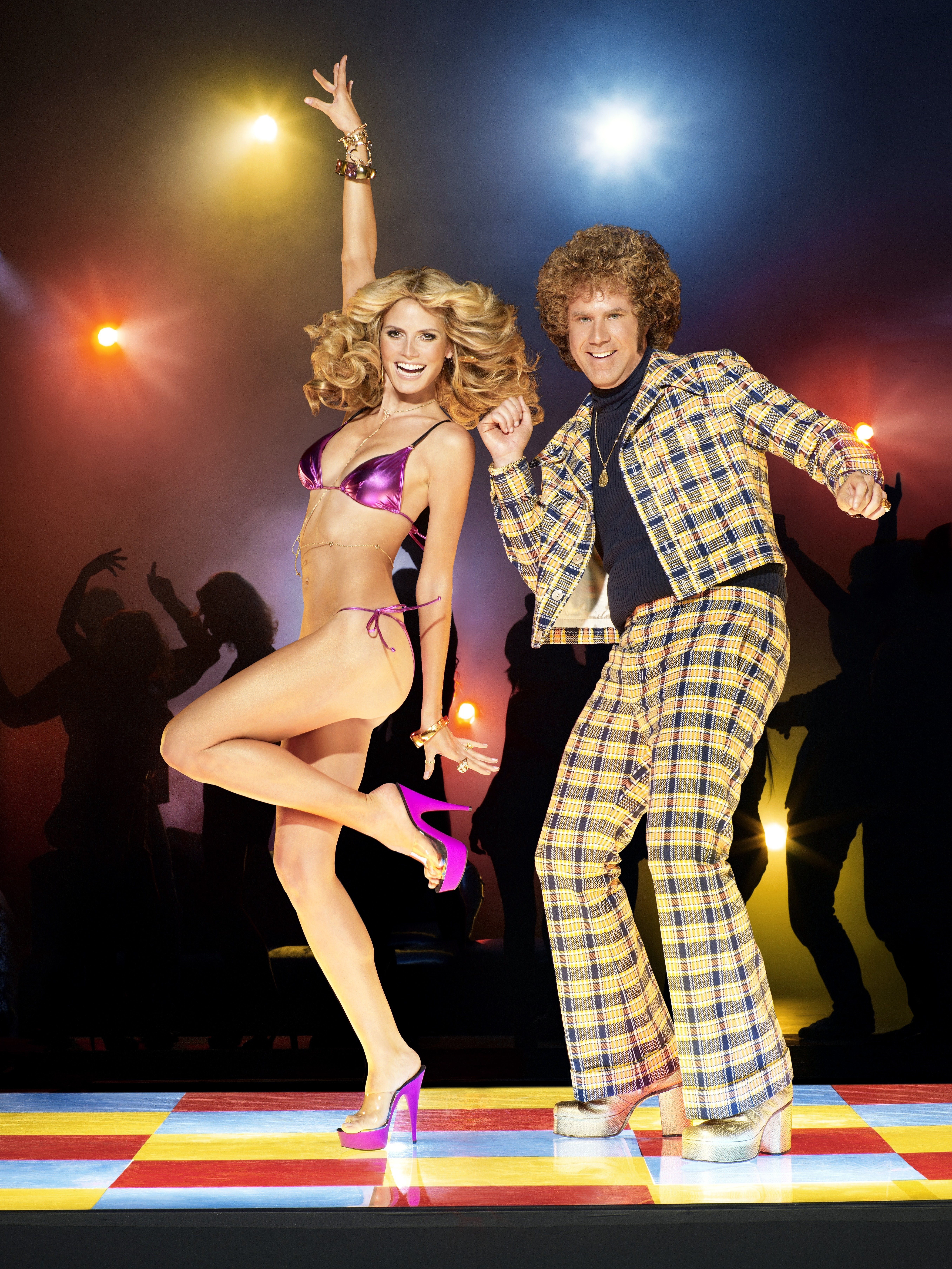 Heidi (with Will Ferrell) as dancing queen :: Andrew Macpherson for SI