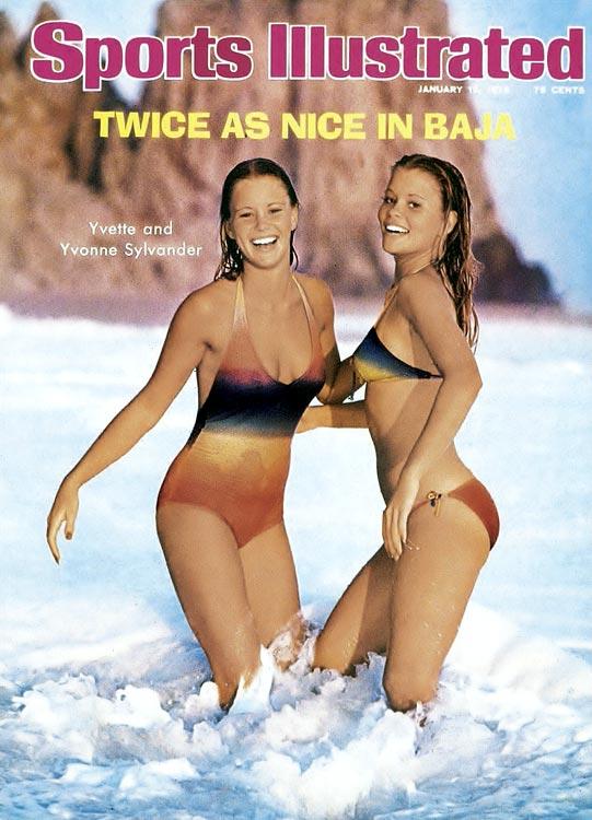 1976 - Yvette and Yvonne Sylvander