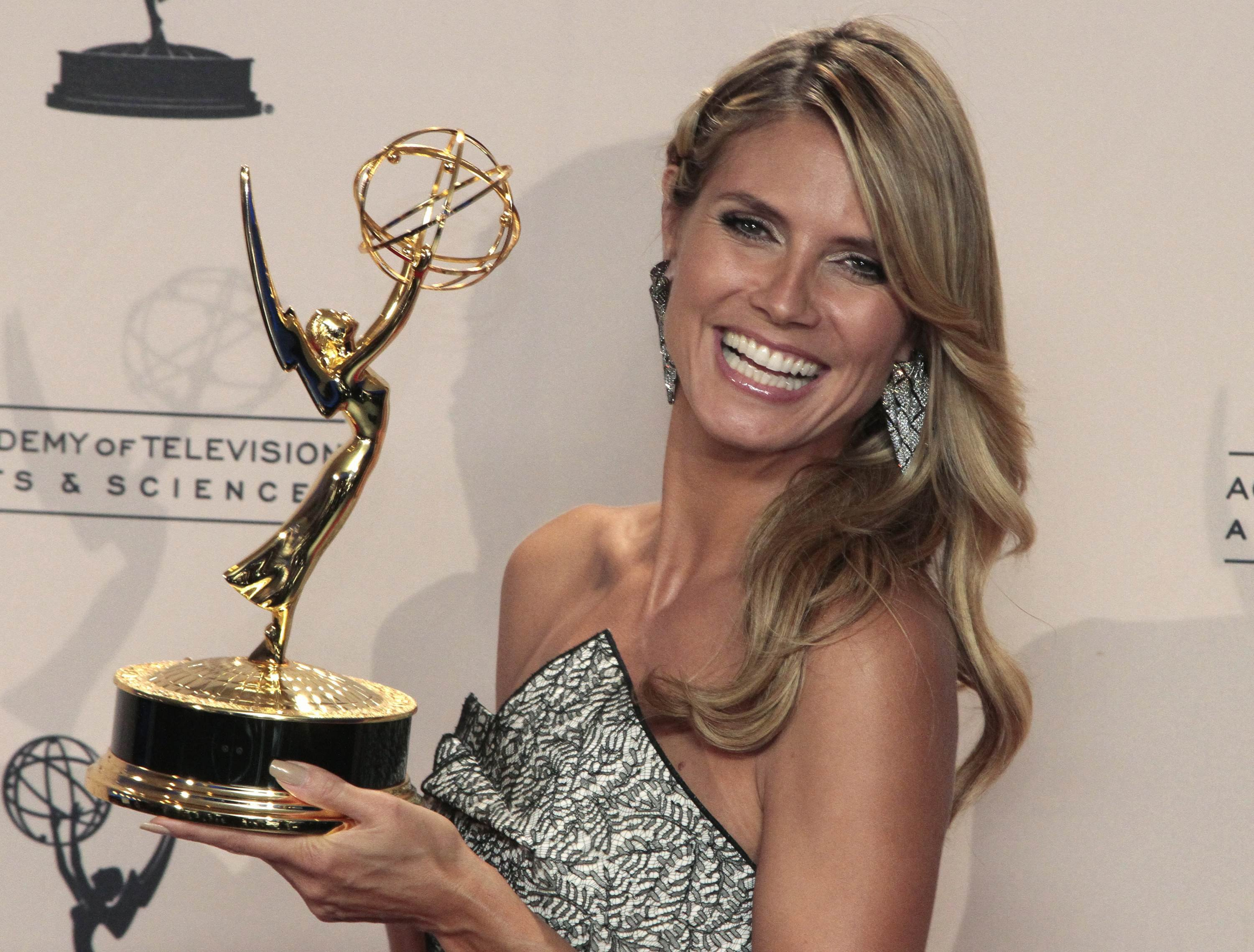 Heidi as Emmy winner :: Jonathan Alcorn/Reuters