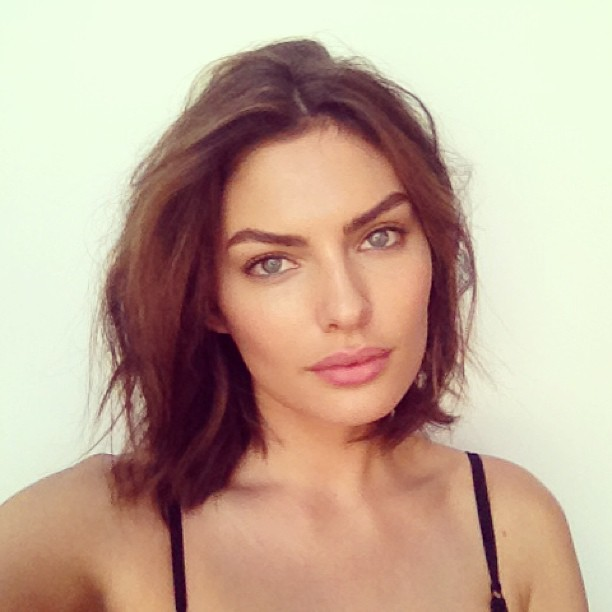 @luvalyssamiller: The look today @jamesmacari @kittengalore