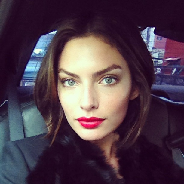 @luvalyssamiller: Feeling inspired by my red lip on set today