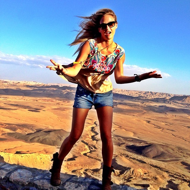 @barrefaeli: Rapping up high