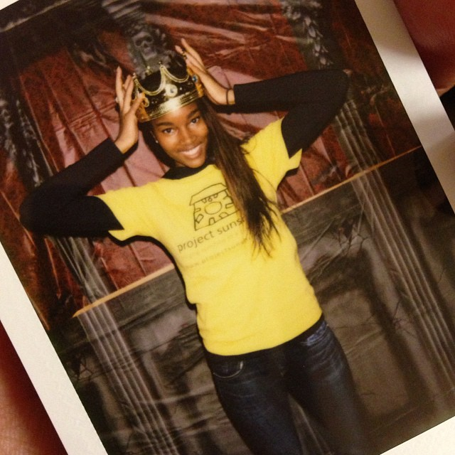 "@damarislewis: @projectsunshine party for the teens! ""Say Cheese Marlon!"""