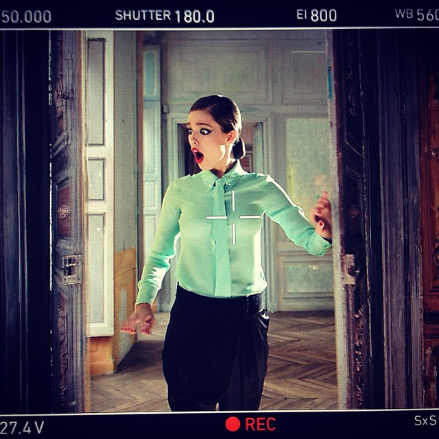 @emilydidonato1: #throwbackthursday shooting in Paris with @maybelline @maybellinenewyork when the entire crew decided to scare me to death and film it haha