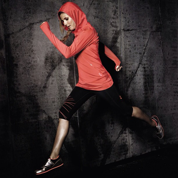 @heidiklum: Sometimes you have to just take a leap of faith! Loving these Heidi Klum for @newbalance sneakers! #HKNB