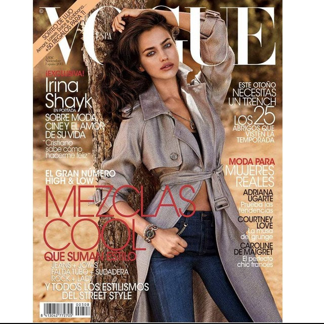 @irinashayk: Thank you @Voguespain for being the first Vogue to feature me and to @belenantolin for giving me my first cover. You are beautiful inside and out ! I'd also like to thank @giampaolosgura and @alikavoussi for always believing and most import