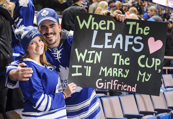 Wonder how long she'll be waiting for a ring? (Derek Leung/Getty Images)