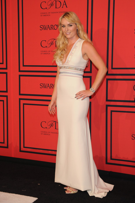 Vonn attends 2013 CFDA Fashion Awards in NYC. (Bryan Bedder/Getty Images)