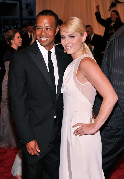 Vonn and boyfriend Tiger Woods attend the 2013 Met Ball. (Stephen Lovekin/FilmMagic)