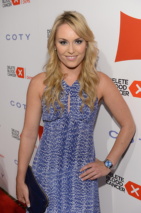 Vonn attends the 2013 Delete Blood Cancer Gala in NYC. (Dimitrios Kambouris/Getty Images)