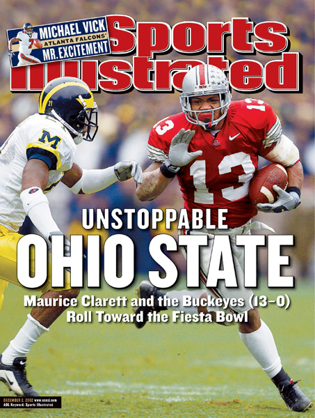 Former Ohio State great Maurice Clarett turns 30 today. (Al Tielemans/SI)