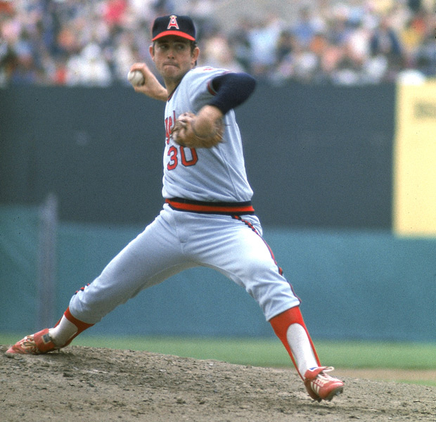 Also on this day in 1974, Nolan Ryan's fastball is clocked at 100.9 mph, earning him an entry in the Guinness Book of World Records. (John Iacono/SI)