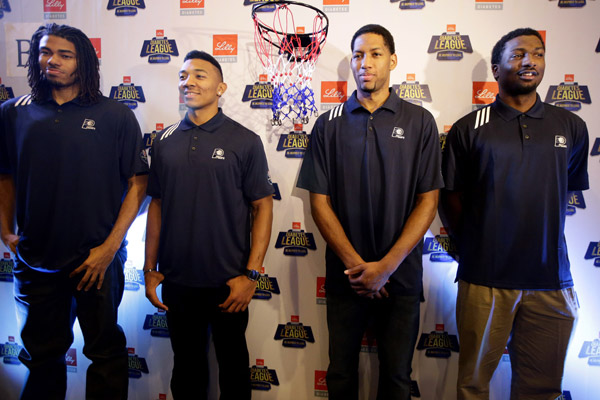 Chris Copeland, Orlando Johnson, Danny Granger, Solomon Hill (Bullit Marquez/AP)