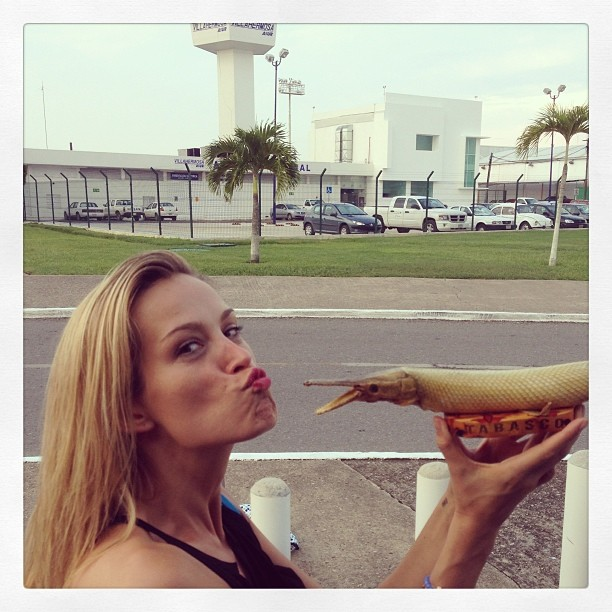 @pnemcova: Bye bye Tabasco, #mexico. #Kiss for good bye.
