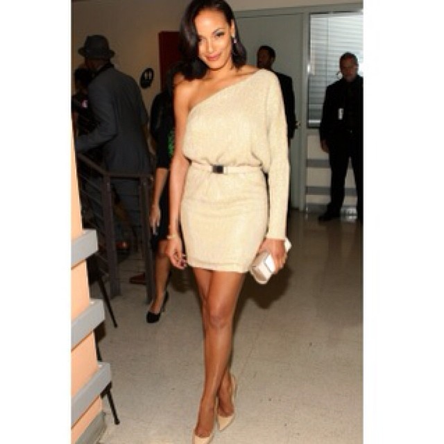 @selitaebanks: #BlackgirlsRock Kaufman Franco fall 13, jimmy choo shoes, effy diamonds