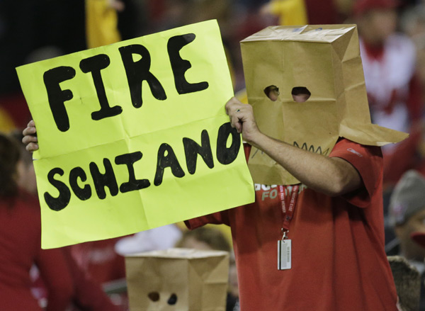 This is a very popular sentiment in Tampa Bay right now. (Chris O'Meara/AP)