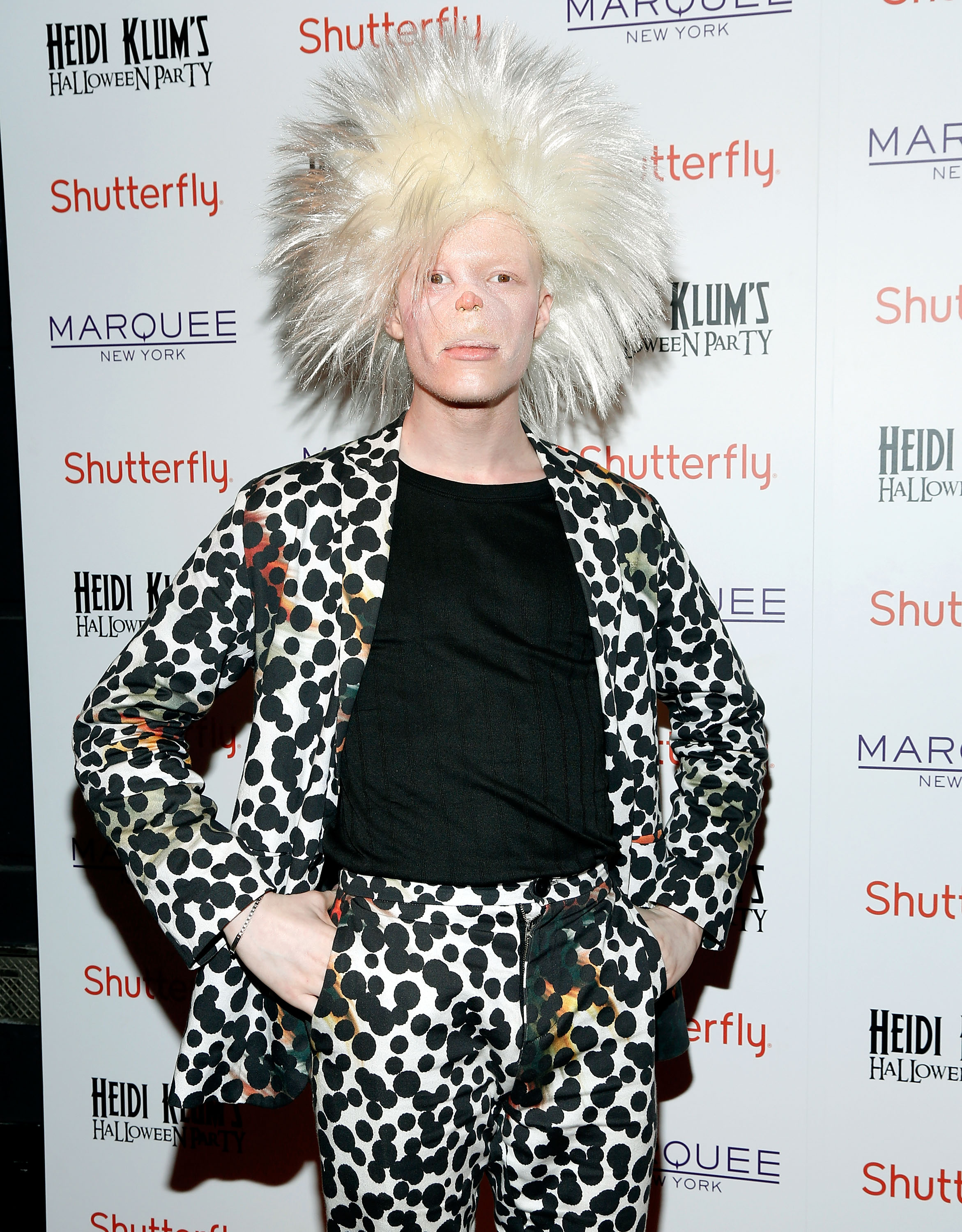 Model Shaun Ross :: Cindy Ord/Getty Images