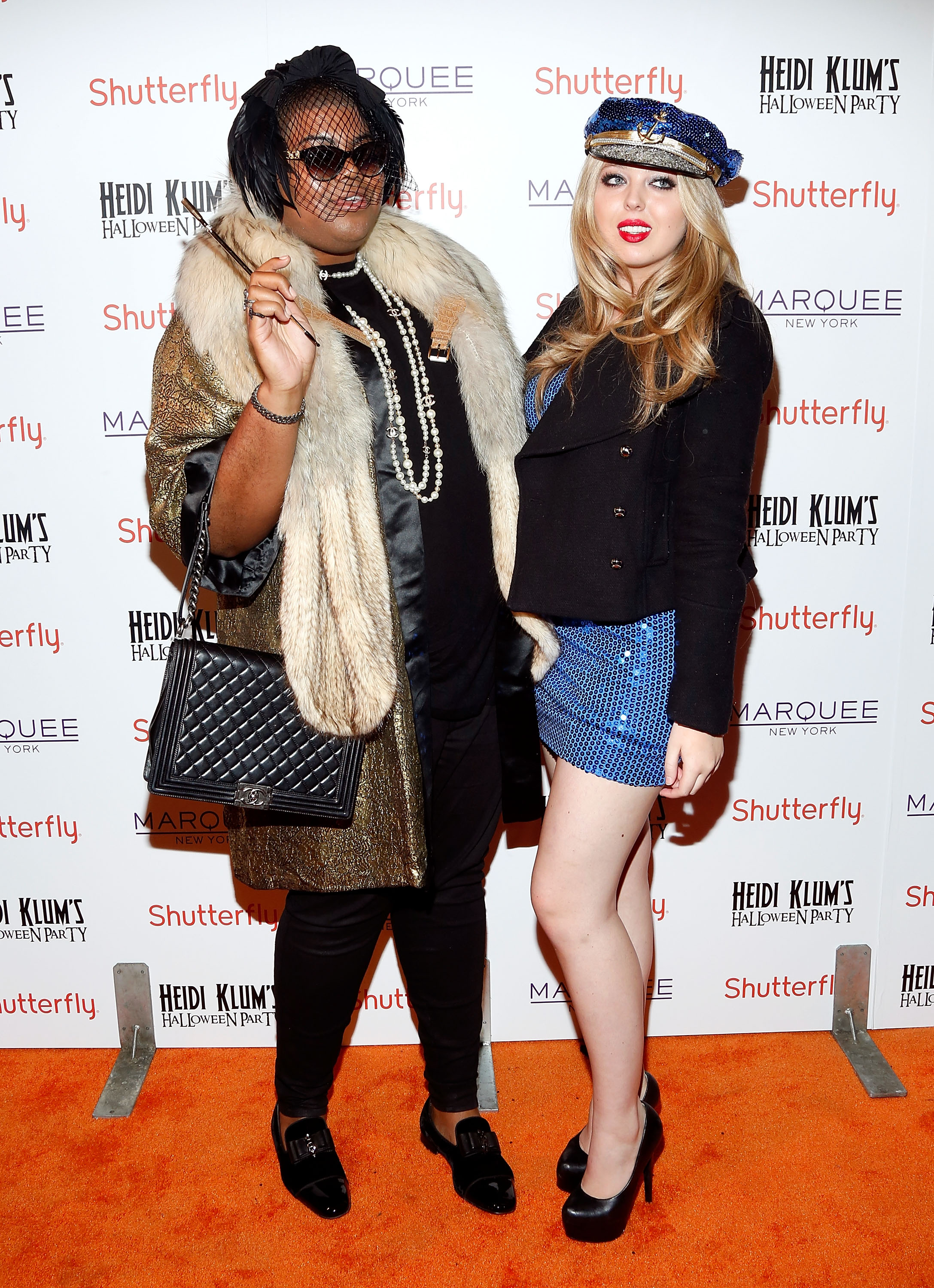 Famous daughters EJ Johnson & Tiffany Trump :: Cindy Ord/Getty Images