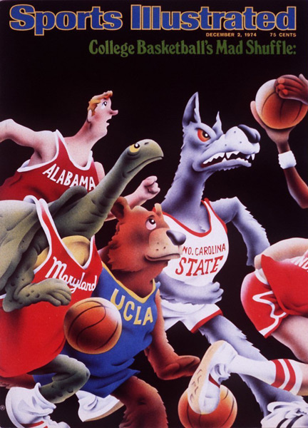 8. College Basketball's mad shuffle (1974) :: Robert Grossman