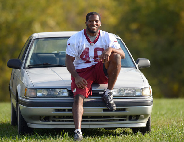 Alfred Morris :: John McDonnell/The Washington Post via Getty Images