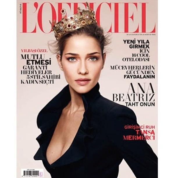 @anabbofficial: Thanks @lofficielturkiye for the beautiful cover #love . Obrigada @lofficiel pela capa amei! #lofficielturkiye
