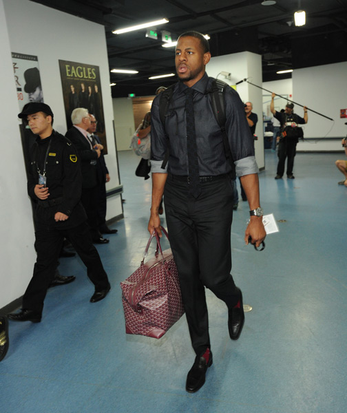 Andre Iguodala :: Andrew D. Bernstein/NBAE via Getty Images
