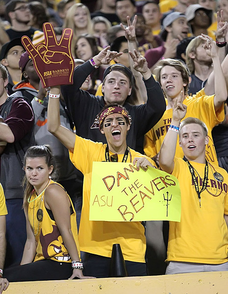 Arizona State Sun Devils vs. Oregon State Bevers :: Bruce Yeung Photography
