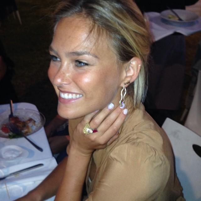 @barrefaeli: I almost stole @sandra_ringler ring! She designed it herself!
