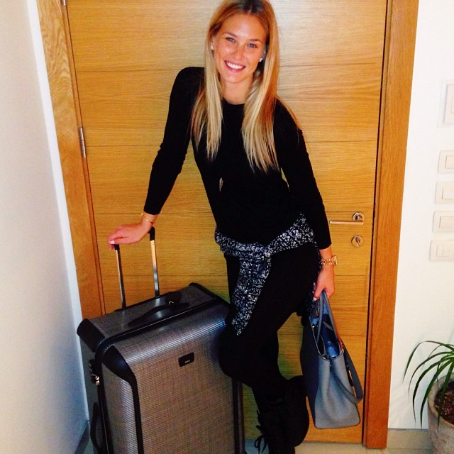 @barrefaeli: A new Tumi=a new home! So exciting - off to NYC For @mycheckus launch