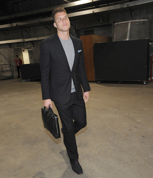 Blake Griffin :: Andrew D. Bernstein/NBAE via Getty Images