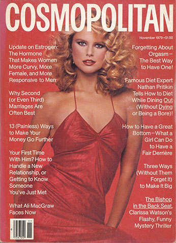 Christie for Cosmopolitan in Nov. 1979 :: Francesco Scavullo