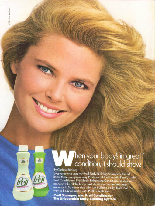 Christie for Prell :: Procter & Gamble, 1986