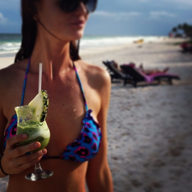 @cintiadicker: Green juice