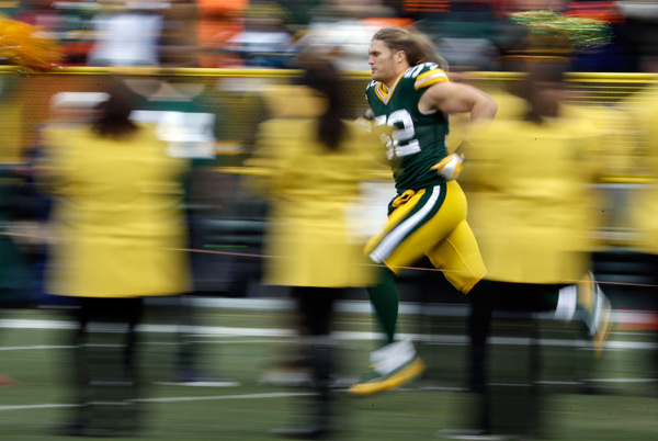 Clay Matthews :: AP Photo/Morry Gash