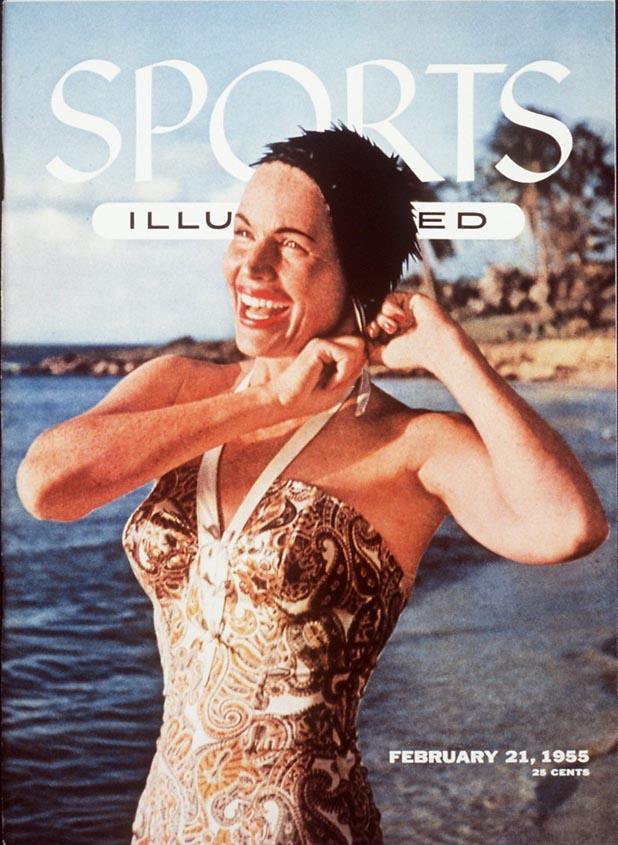 Gentemen, meet Betty Di Bugnano  ::  Philip O. Stearns/SI