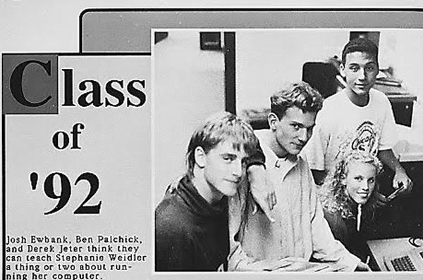 Derek Jeter, Class of '92, Kalamazoo Central High School (Kalamazoo, Mich.)
